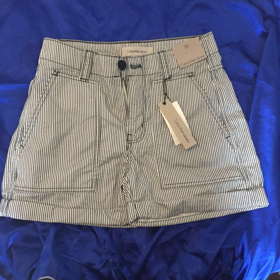 Calvin Klein Striped Shorts