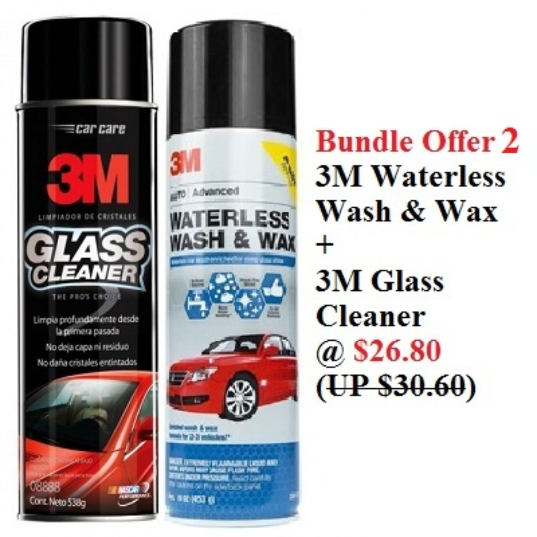 Car Care Product From 3m Car Care Bundle Offer Car Accessories