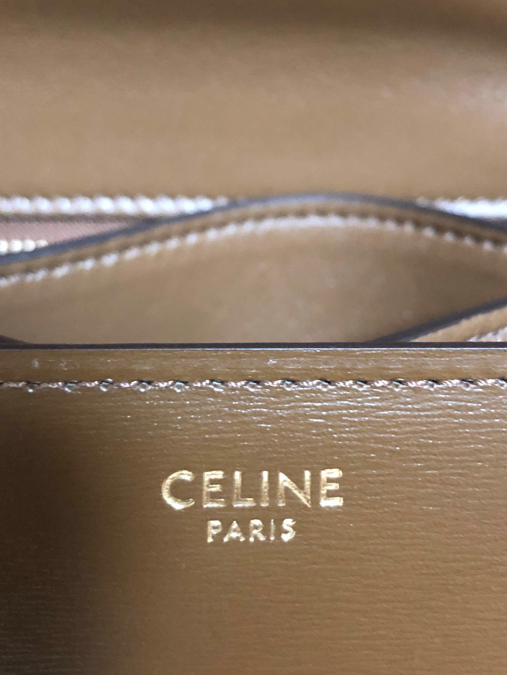 Celine Classic Box Mini - Camel