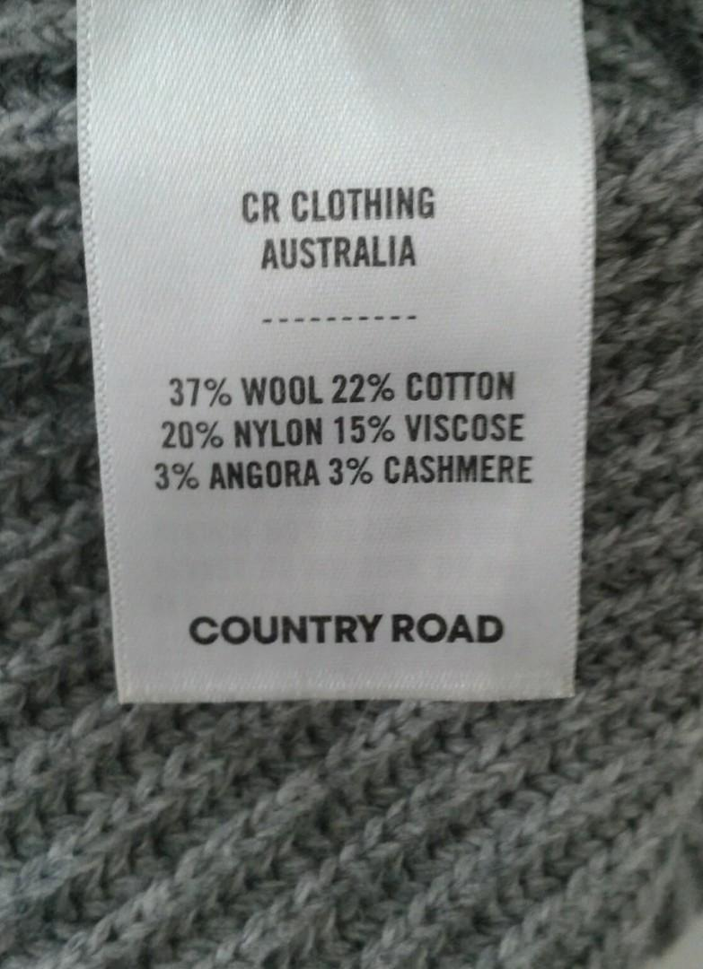 Country Road Wool Knit Sweater Jumper fits 6 8 and 10