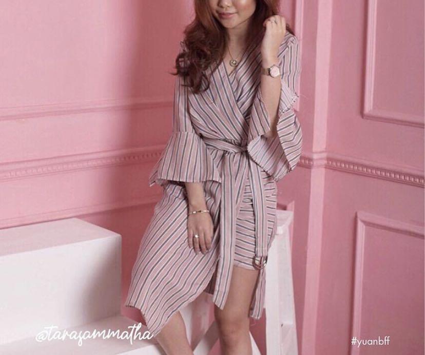 dress striped