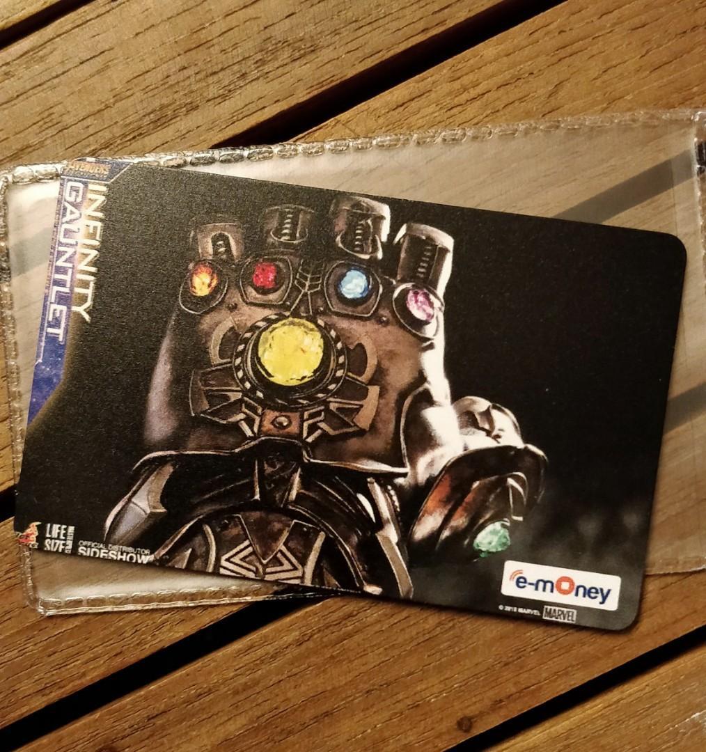 Etoll emoney Mandiri Card Avengers Marvell Infinity Gauntlet