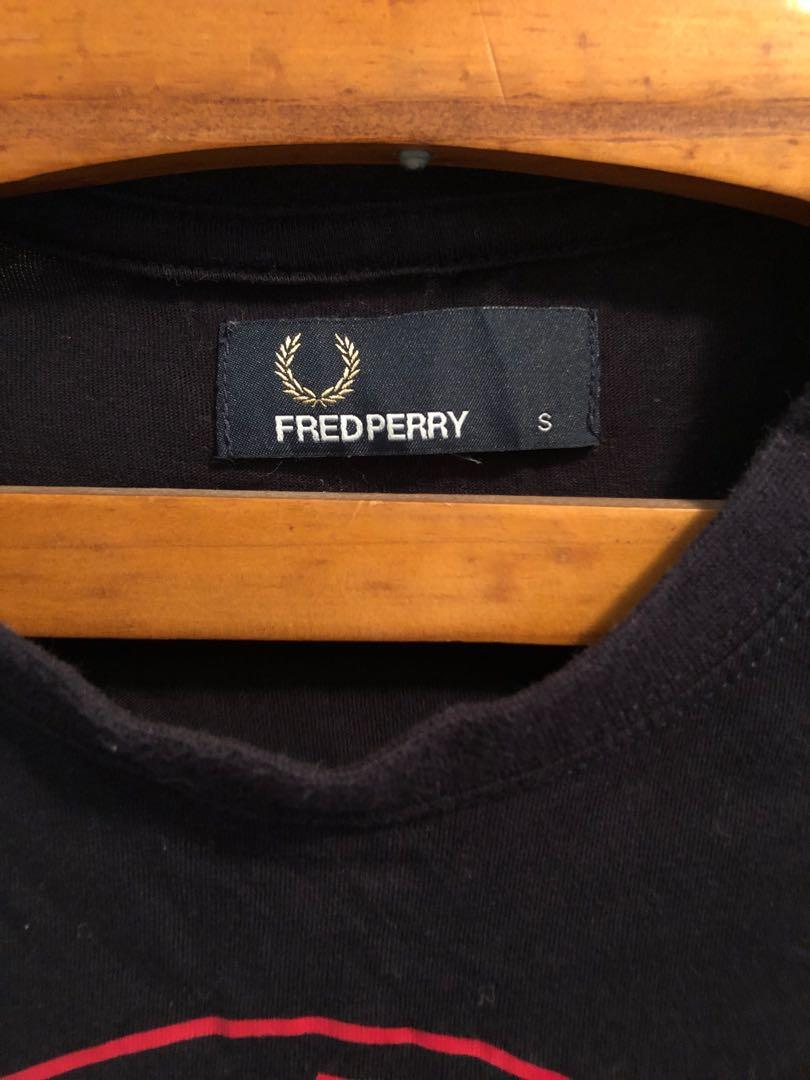 Fred Perry Tee blue