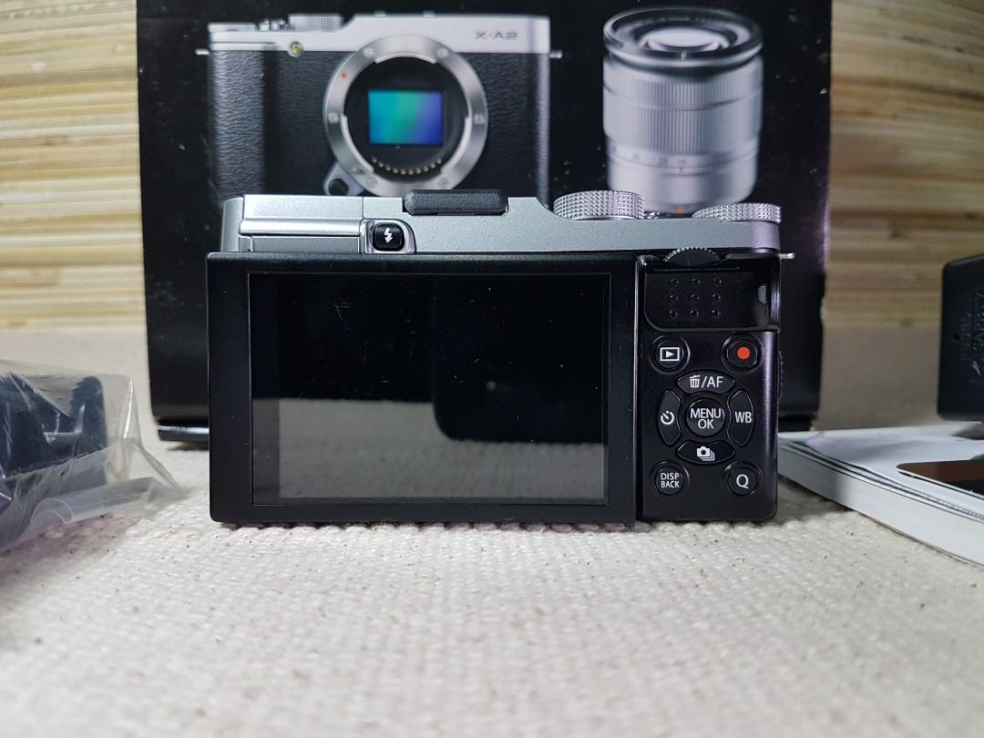 Fujifilm X-A2 Body Only Mulus Lengkap Bonus