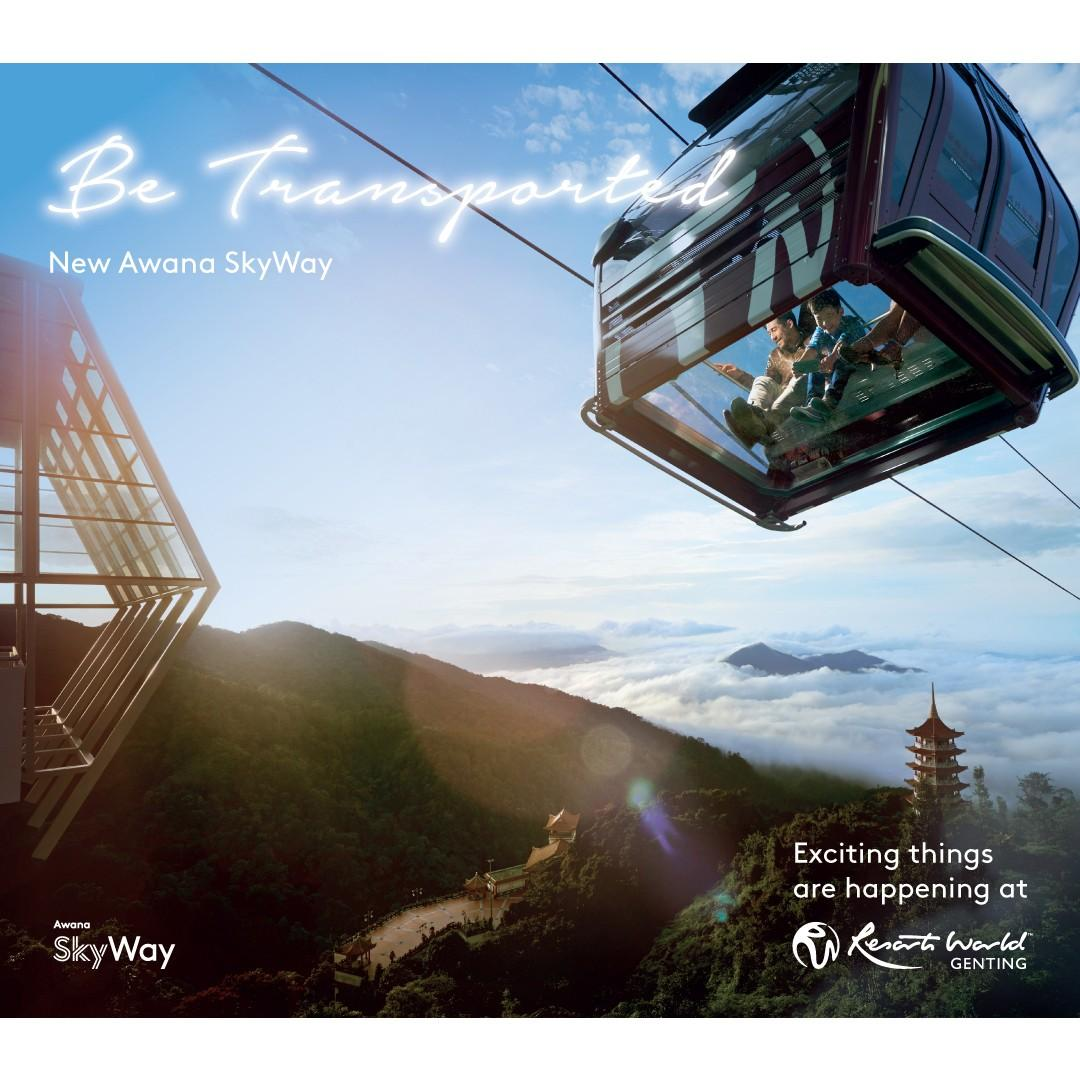 WTS Travel Genting Highlands - 2D1N Theme Park Hotel + Transfer + Skyway + Breakfast