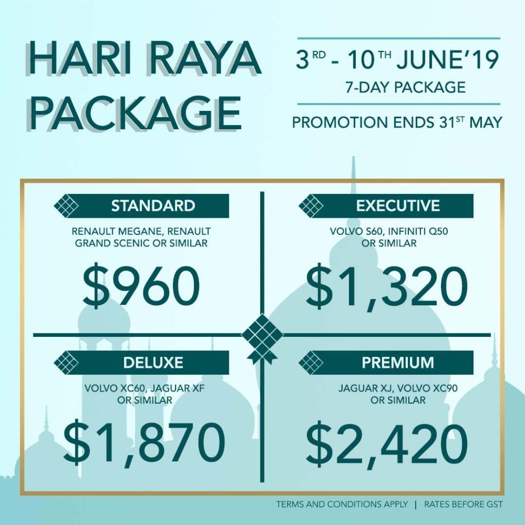 Hari Raya Package 2019