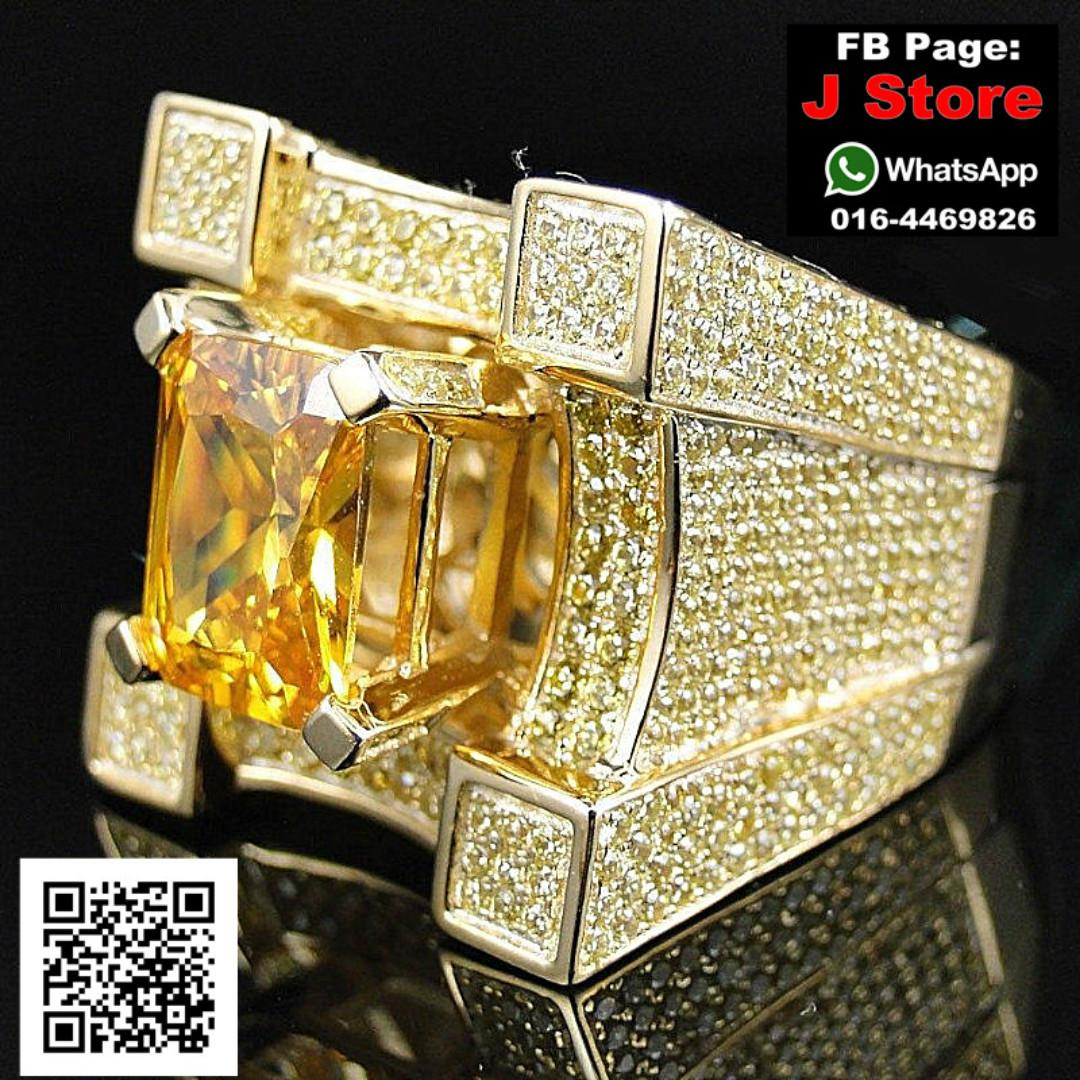 HipHop Gold Ring