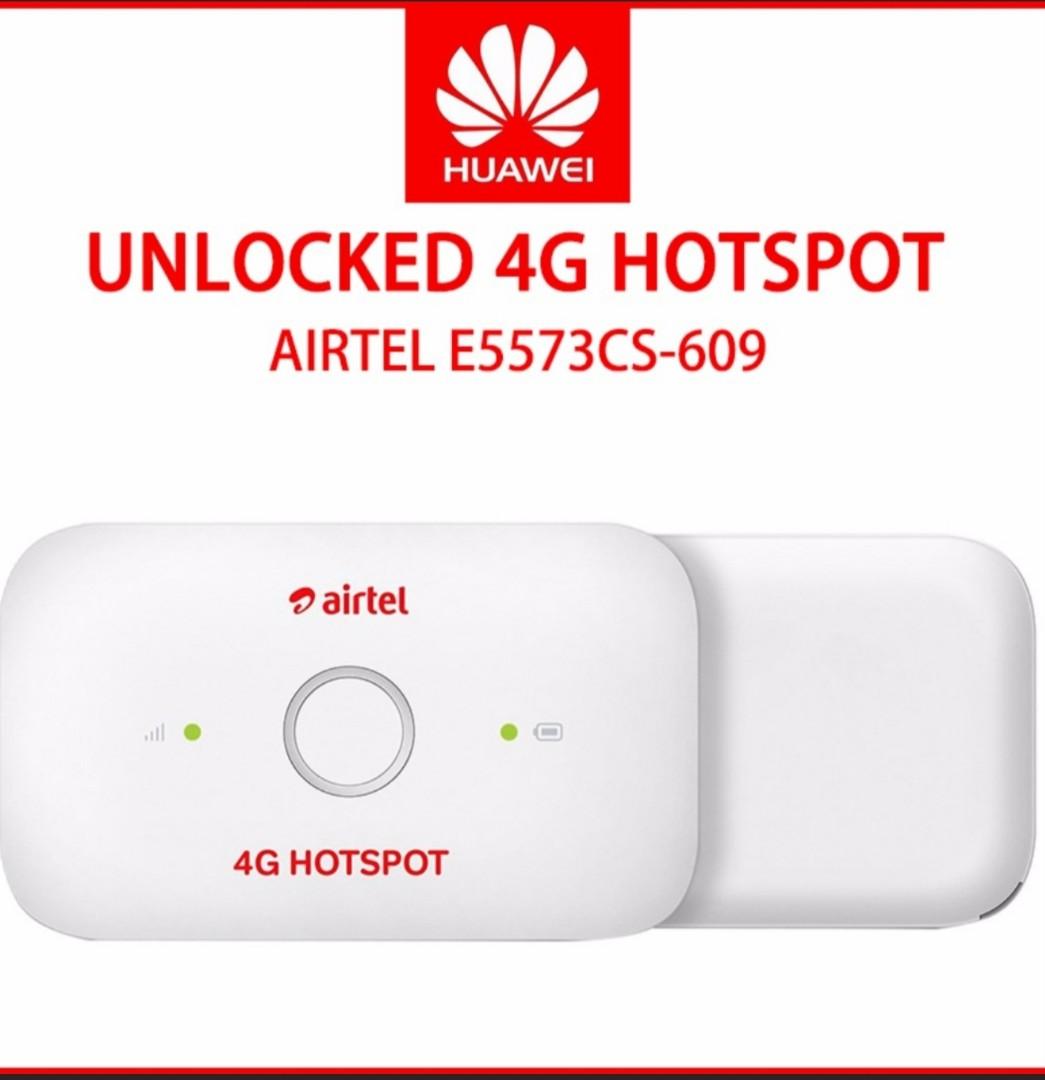 Huawei Airtel E5573Cs 609 Hotspot 4G
