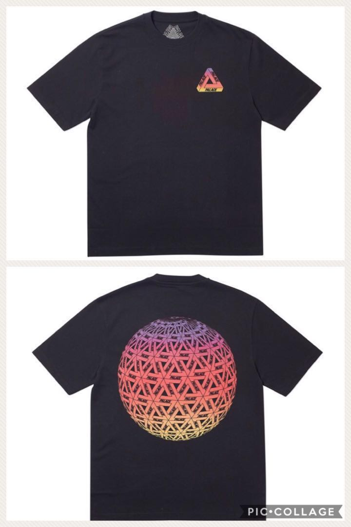 6468bd2c In Stock) Palace Globular Tee Black, Men's Fashion, Clothes, Tops on ...
