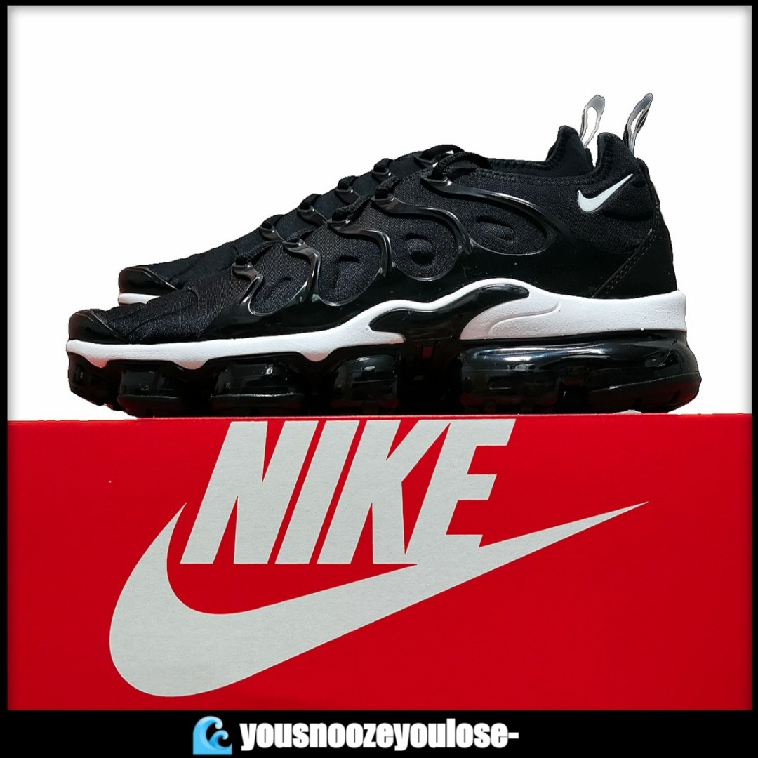 988a59596a 🔥INSTOCK🔥 NIKE AIR VAPORMAX PLUS OVERBRANDING BLACK WHITE, Men's ...