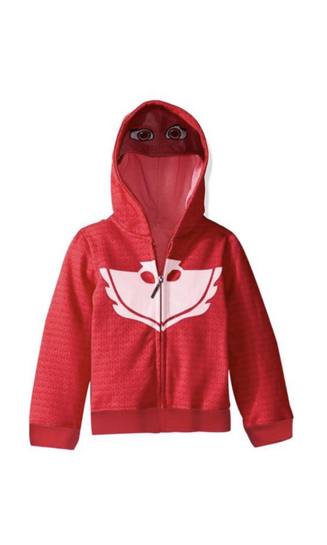 Instock pj mask owlette jackets brand new size 100-130cm
