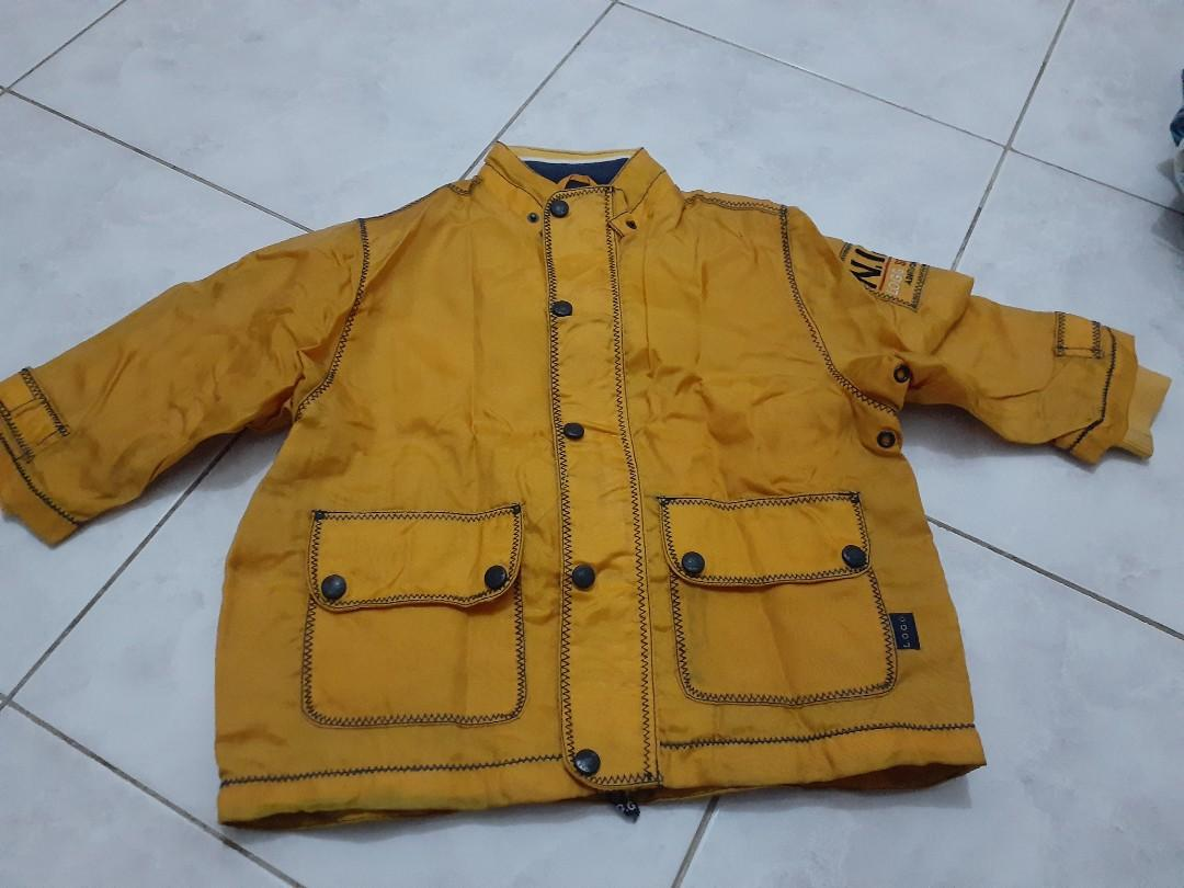 Jaket mantel anak
