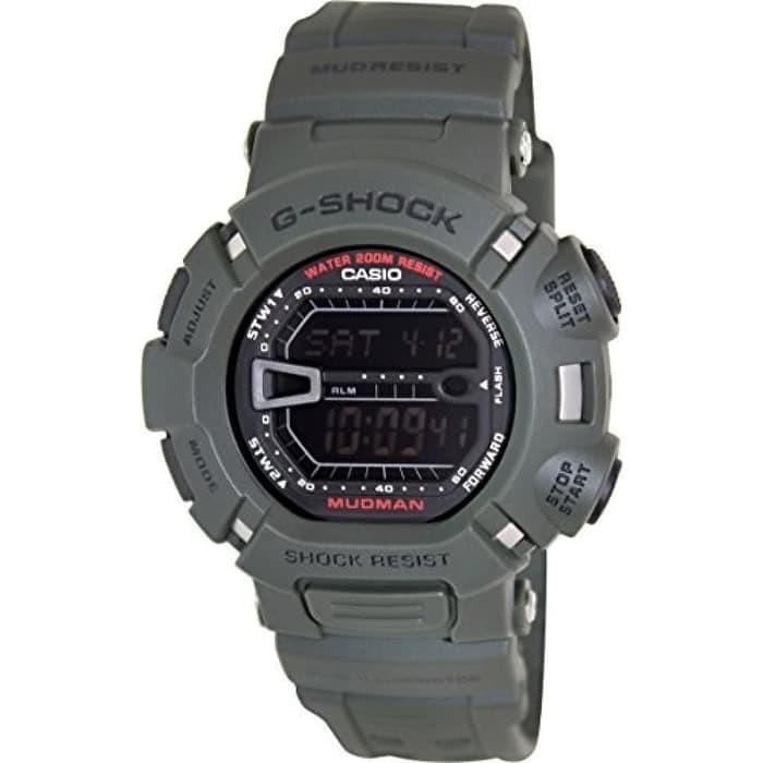 Jam Tangan Pria Casio G-SHOCK G-9000-3VDR MUDMAN Hijau Original Murah