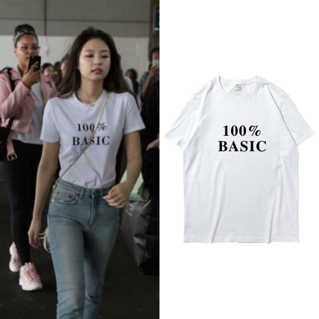 Jennie blackpink tee 2