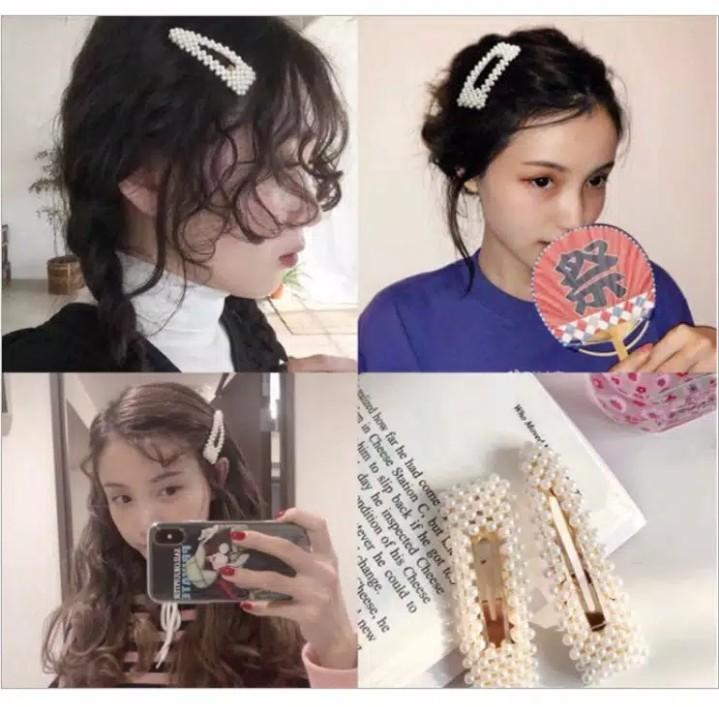 Jepit korea import lagi hits hair clip