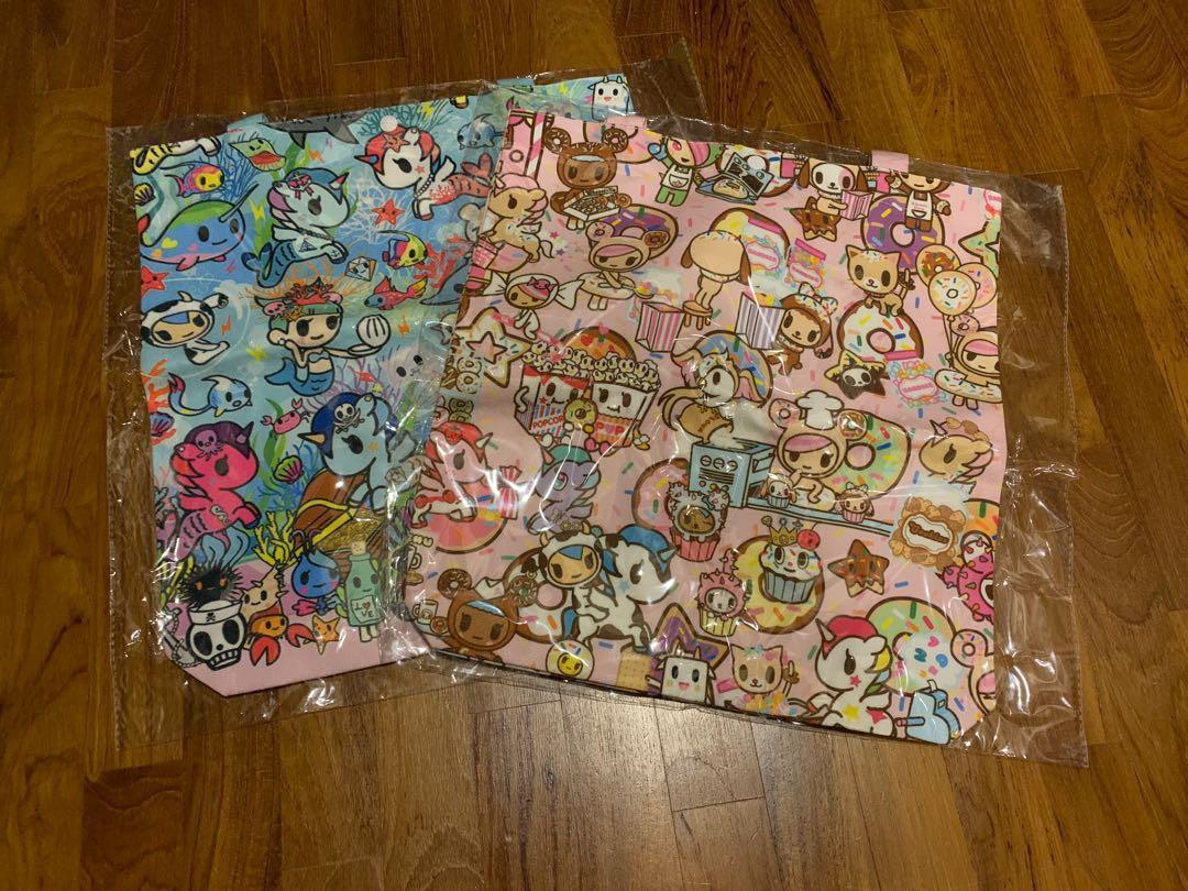 Jujube tokidoki canvas tote bag