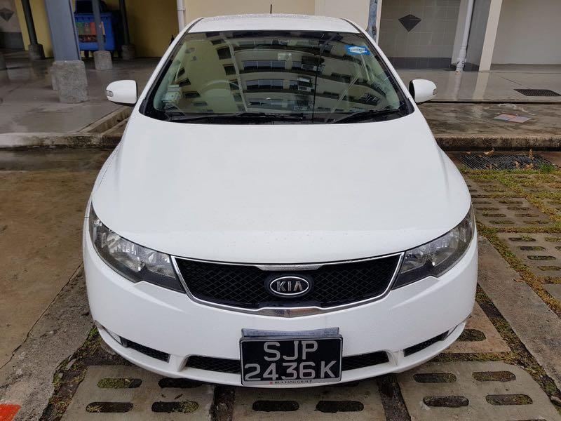 KIA Cerato Forte 1.6(A) / FIAT Bravo 1.4 Manual available for Grab and Personal Use