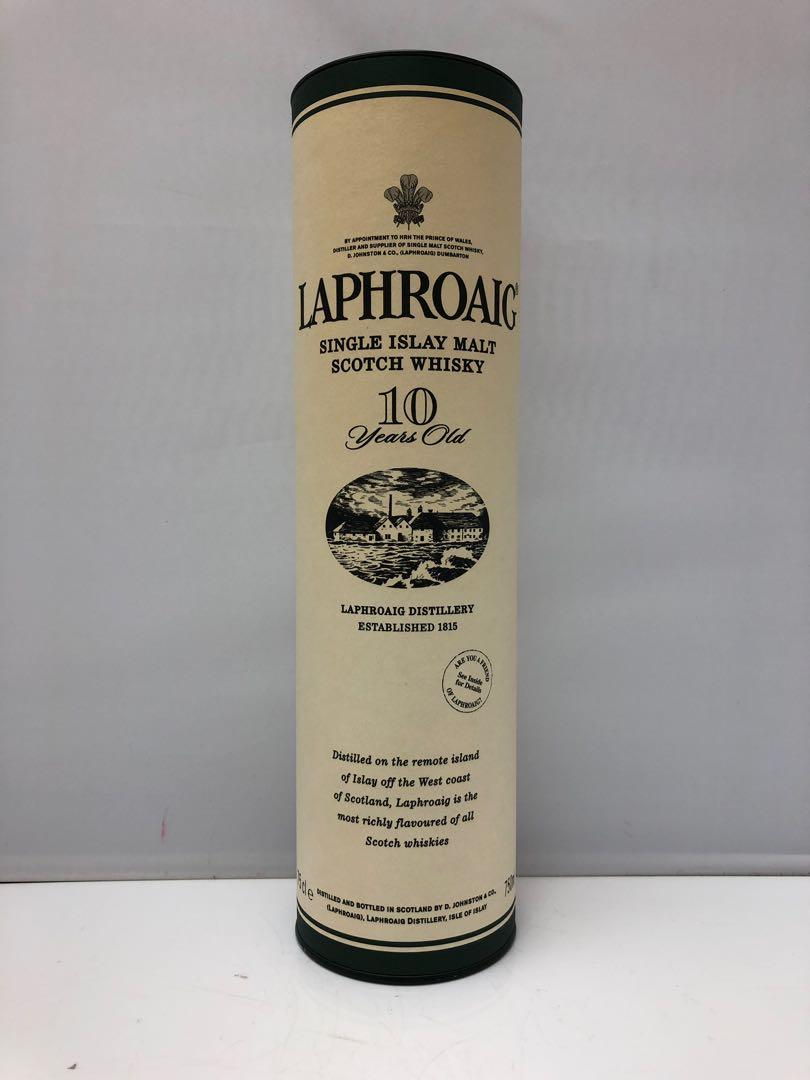 Laphroaig 10 years Scotch Whisky 吉盒一個