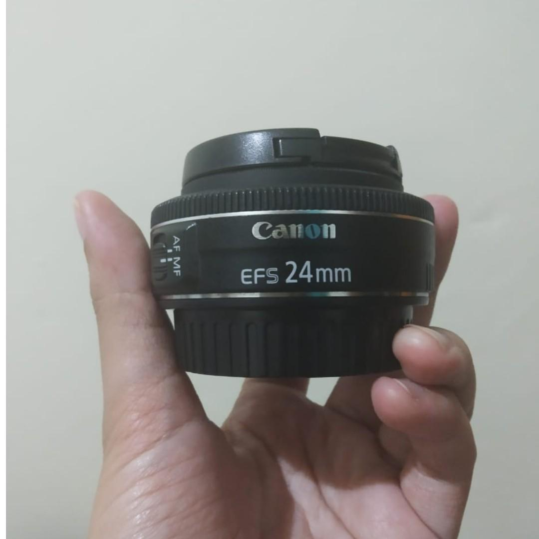 Lensa Canon EFS 24 mm