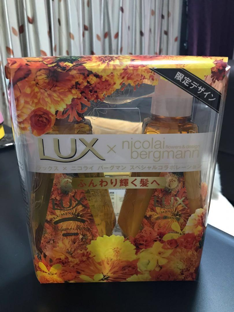 日本版Luminique限定套裝🇯🇵限定荷荷芭油 無矽靈修復洗護套裝: 淡雅芬芳