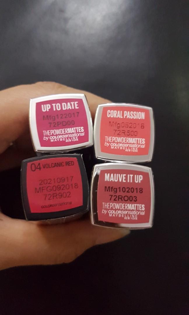 Maybelline 唇膏 #MTRkt