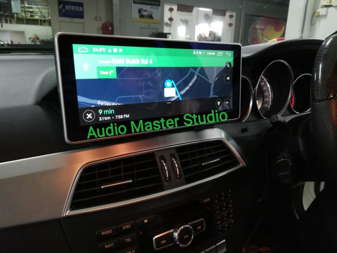 Mercedes w204 10.2 Android