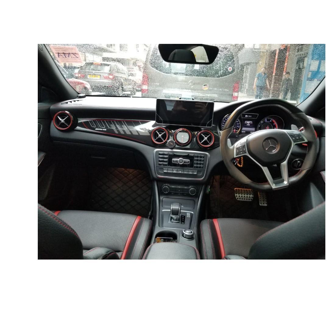 MERCEDES-BENZ CLA45 AMG Black Edition 2014
