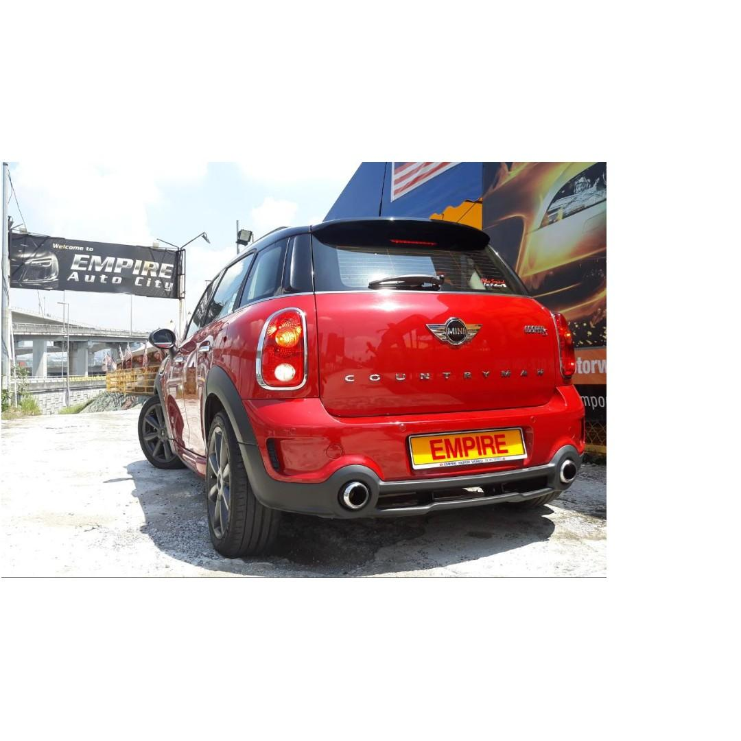 MINI COOPER S COUNTRYMAN 1.6 ( A ) ALL 4 TWIN POWER TURBO !! NEW MODEL !! JCW FULL BODYKIT !! PADDLE SHIFT / PUSH START AND ETC !! PREMIUM FULL HIGH SPECS !! ( VXX 2836 ) 1 CAREFUL OWNER !!