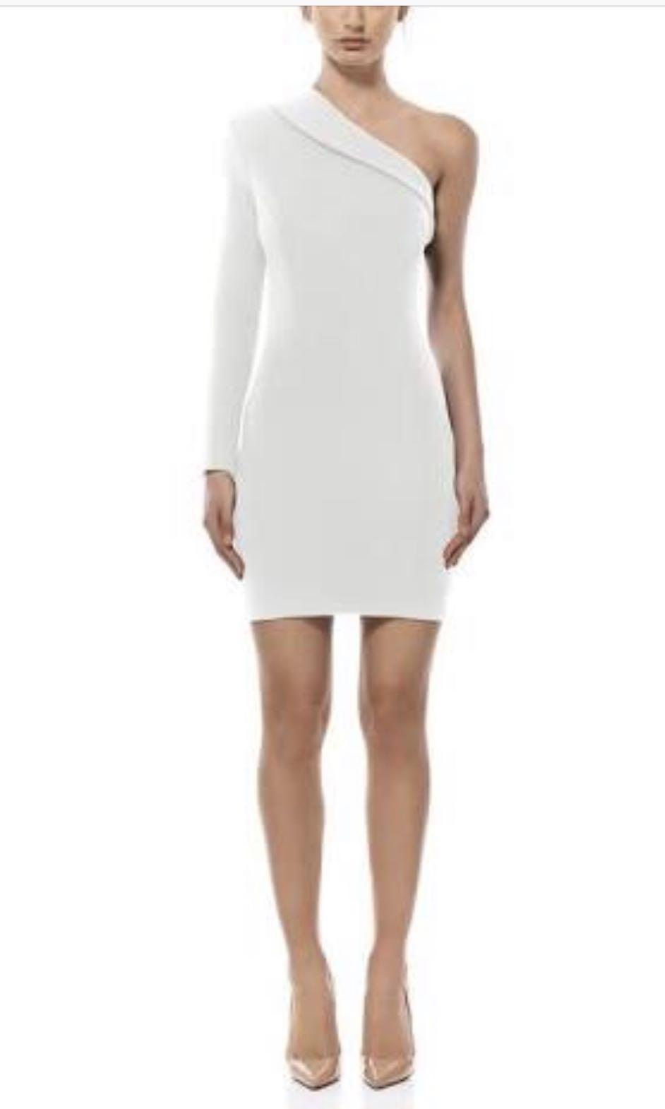 Misha Collection White OFF shoulder dress