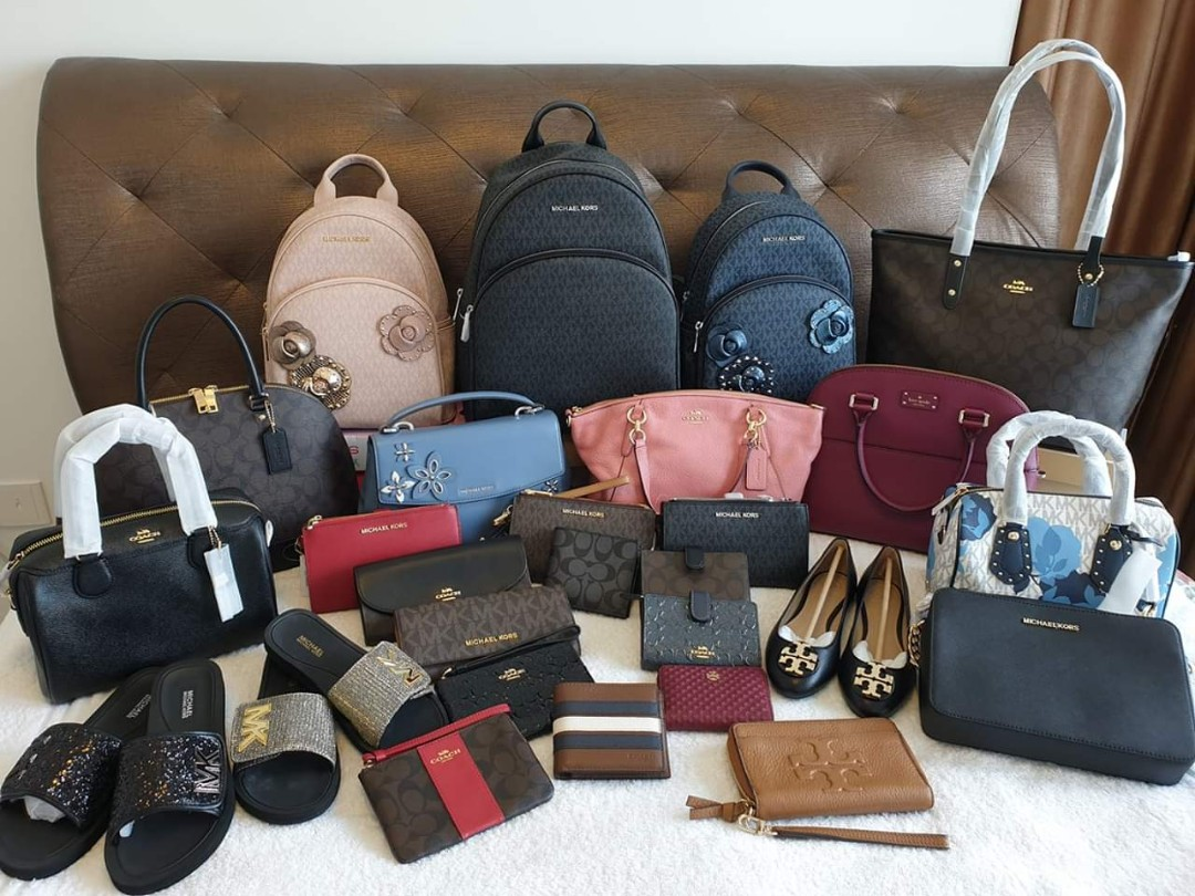 6a07864f0a09 Michael Kors, Coach, Tory Burch and Kate Spade bags and shoes ...