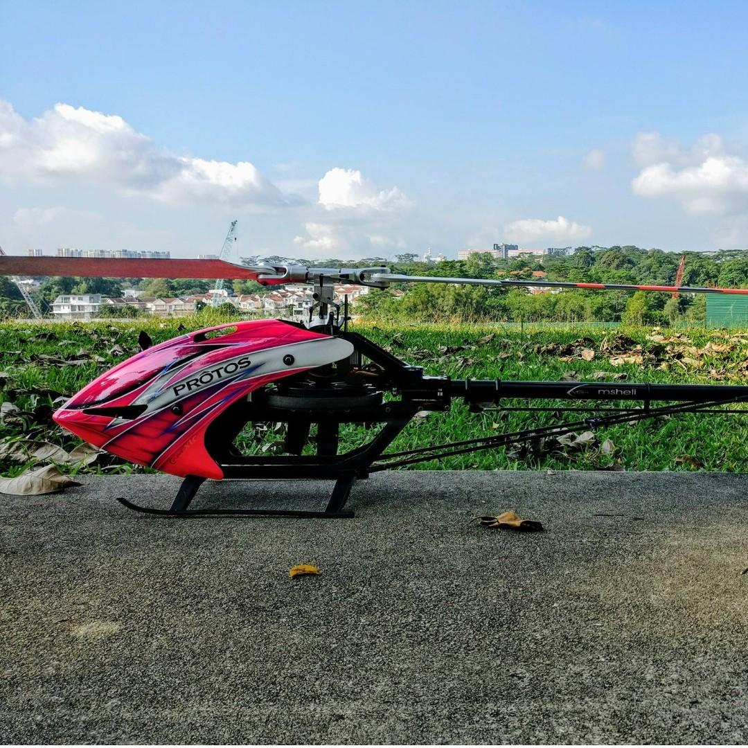 MSH Protos 700 Max V2 RC Heli, Toys & Games, Others on Carousell