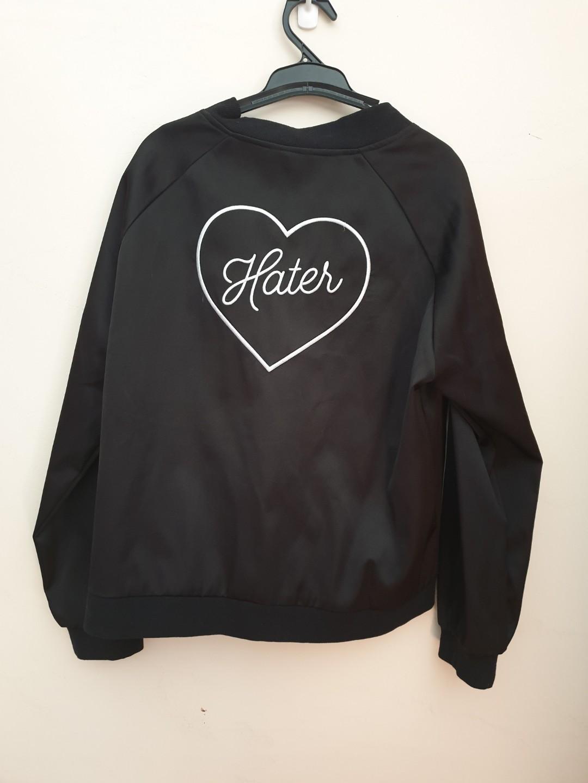 NEW hater bomber jacket