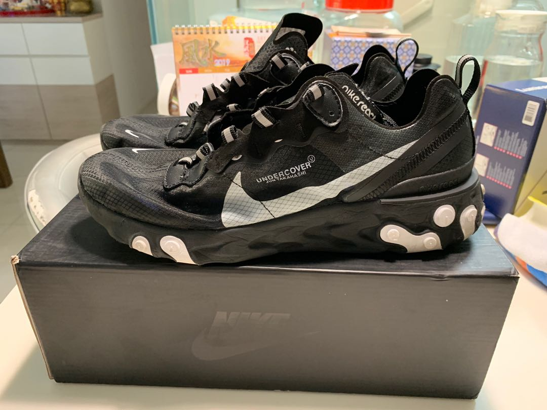 new arrivals f7271 1b109 Nike react element 87 undercover, Men s Fashion, Footwear, Sneakers on  Carousell