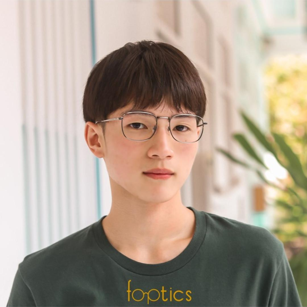 Novel 2 in Gunmetal - foptics Eyewear - Prescription Glasses in Singapore