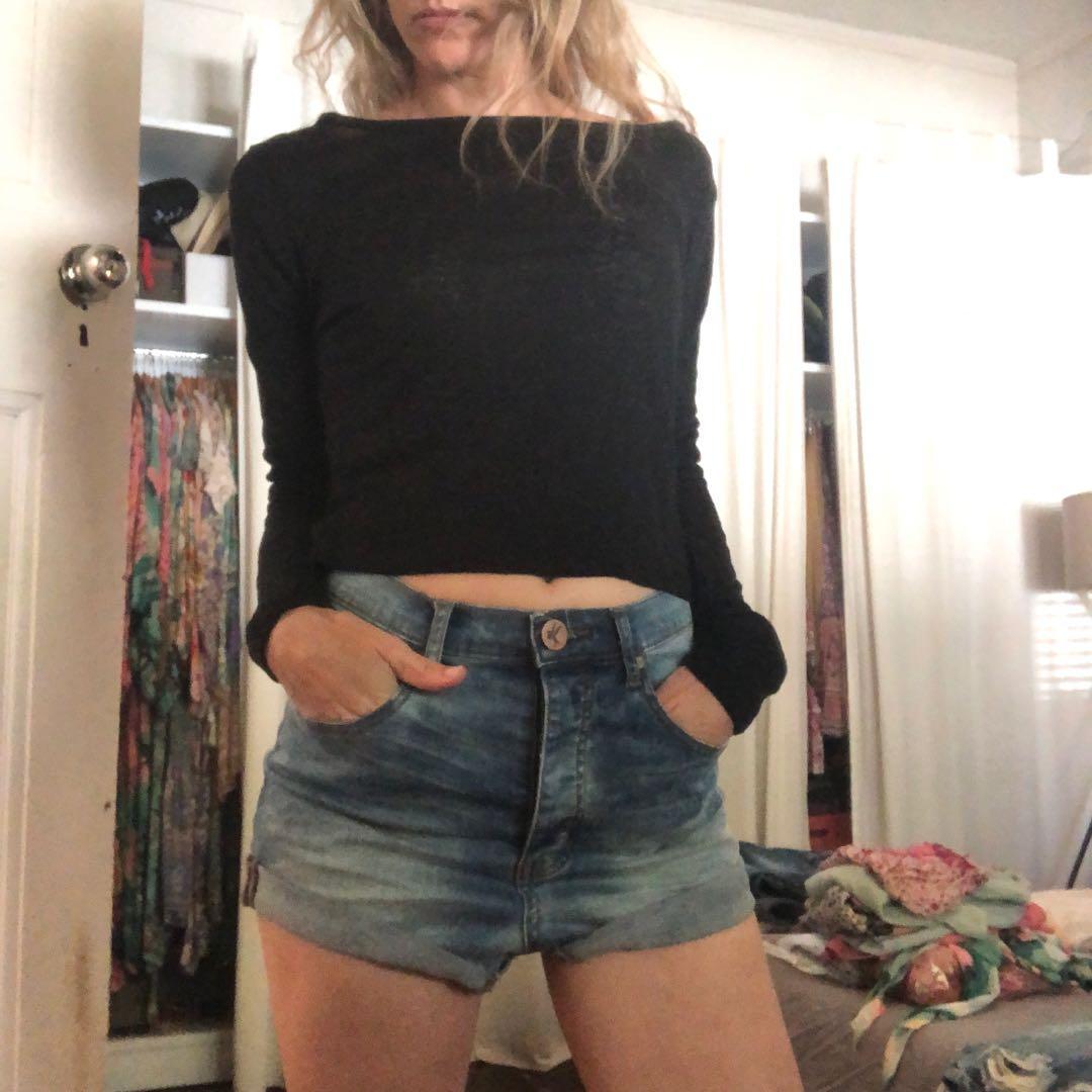 One teaspoon americano lovers low waist drop crotch