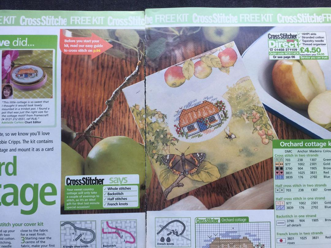 Orchard Cottage Cross Stitch Kit