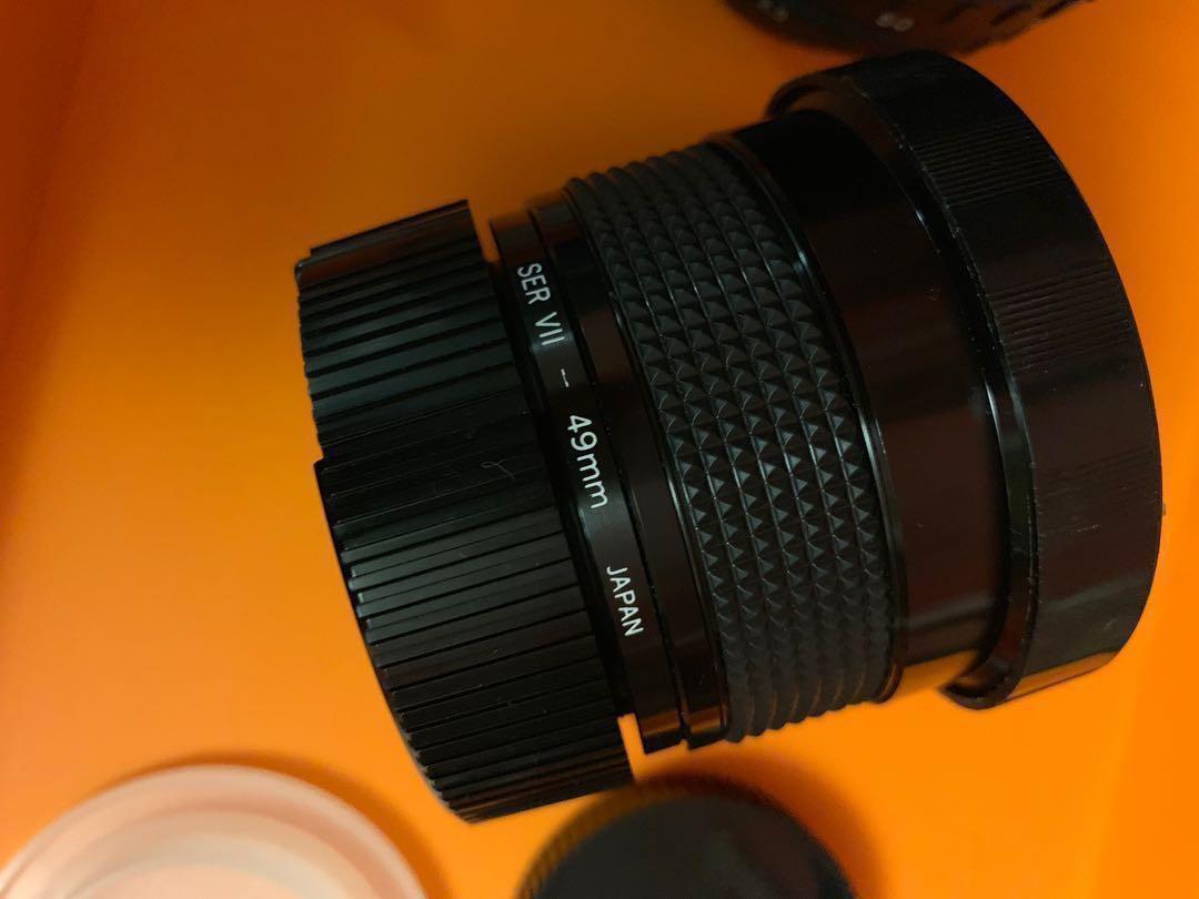 Pentax lens 一套
