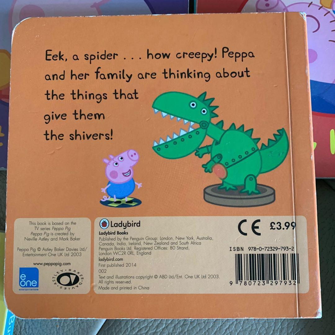 Peppa Pig story books  (硬皮書)