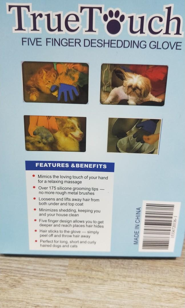 Pet Glove Grooming for Cats and Dogs
