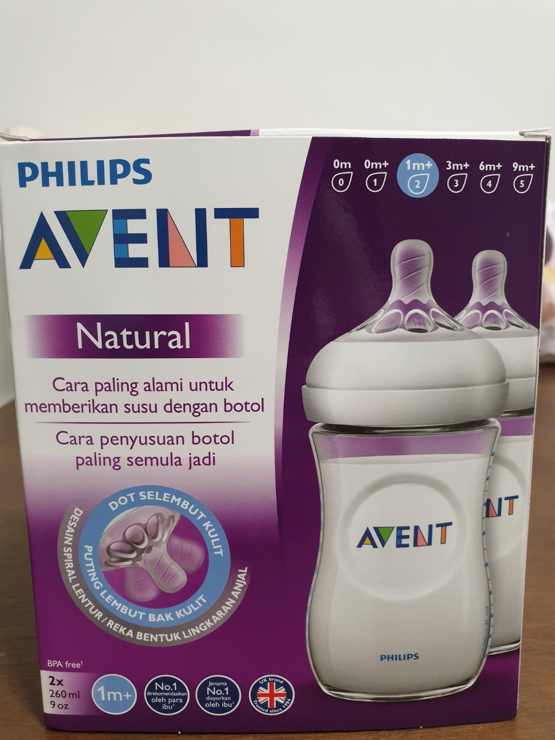 Philips Avent Natural Bottles