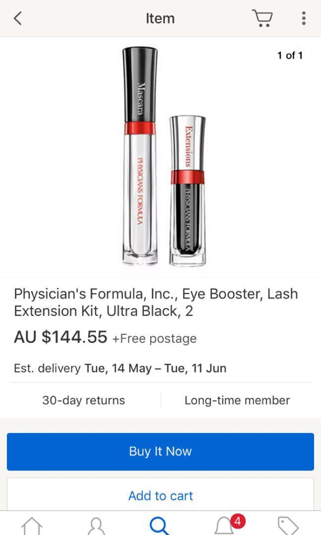 Physicians formula inc. eye booster lash extension kit