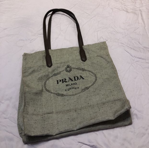 bab533c5a7e92d PRADA] Classic Prada Tote Bag, Luxury, Bags & Wallets, Handbags on ...
