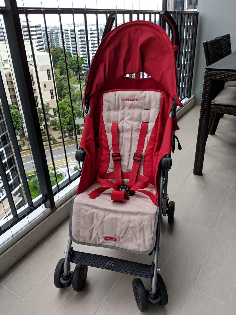 Preloved Maclaren Quest Umbrella Stroller