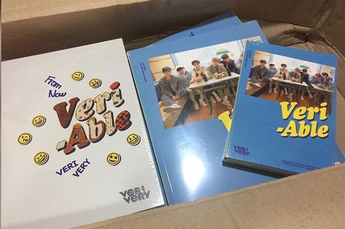 [Preorder] VERIVERY 2nd Mini Album - VERI-ABLE CD + POSTER