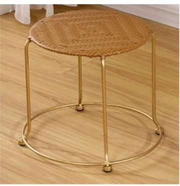 Sensational Rattan Small Round Stool Furniture Tables Chairs On Onthecornerstone Fun Painted Chair Ideas Images Onthecornerstoneorg