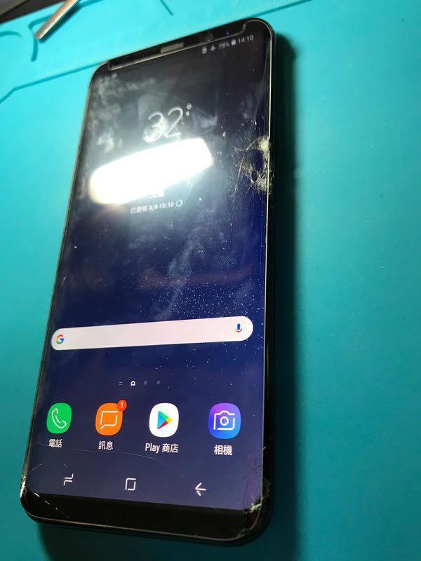 Samsung 8 Plus爆Mon維修