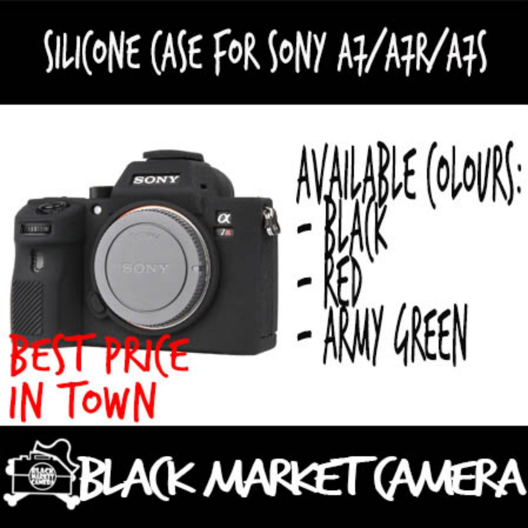 new style bd23f dc0bc Silicone case for Sony A7/A7R/A7S
