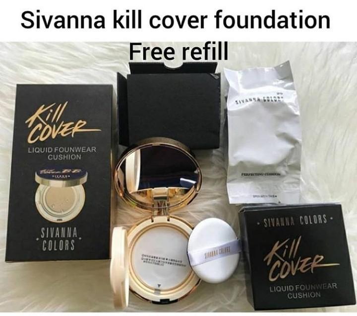 Sivanna kill cover fondation ori bangkok