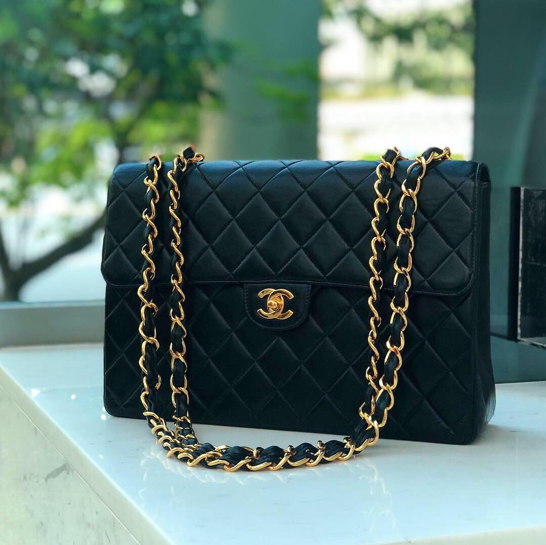 bb0f9a9ca ✖️SOLD!✖ So Gorgeous! Chanel Jumbo Flap in Black Lambskin 22k ...