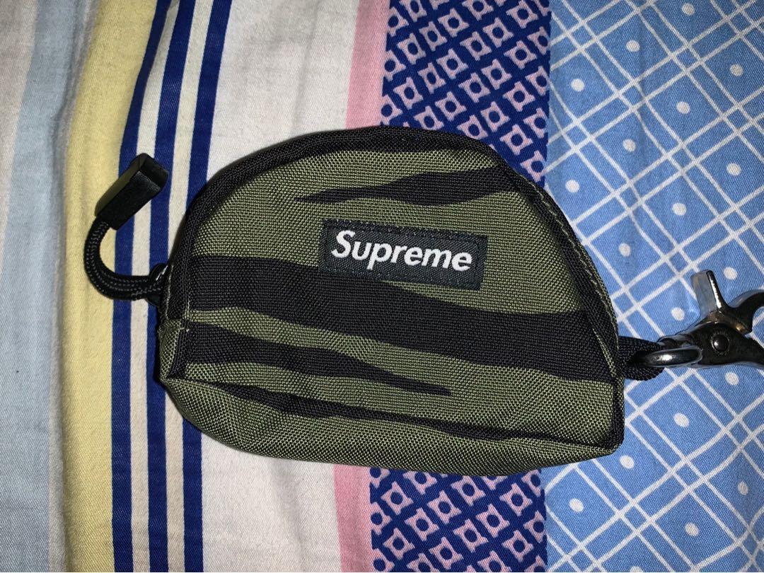 Supreme tiger camo bag pouch